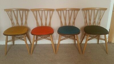 Ercol Candlestick Dining Chairs