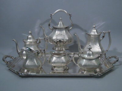 Reed & Barton Tea Coffee Set - 625 - Antique Service - American Sterling Silver