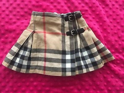 Baby girl burberry skirt