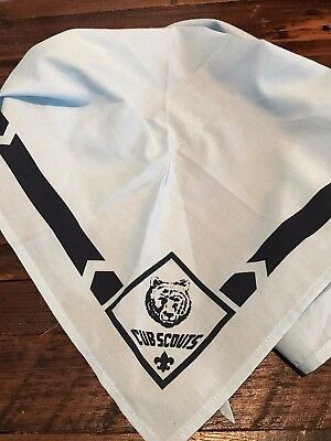 Cub Scout Bear Neckerchief - Boy Scouts of America - New