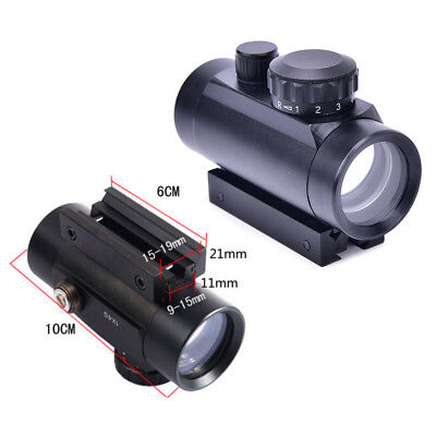 Tactical Holographic Sight Green Red Dot Sight Scope 1x40mm Cross Riflescope AB