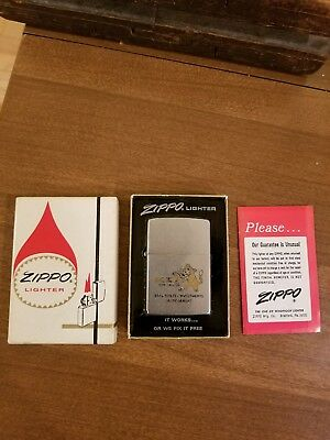 vintage zippo lighters in boxes