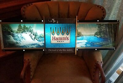 Hamms Beer Motion Sign Lighted Vintage Advertising Breweriana