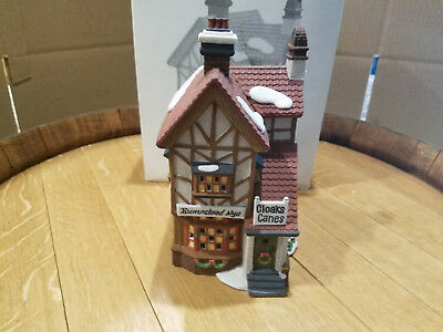 Department 56 - Dickens Village - Bumpstead NYE Cloaks & Canes  - Building