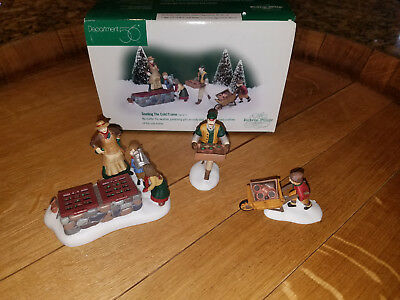 Department 56 -Dickens Village - Tending the Cold Frame - set of 3 - 1998