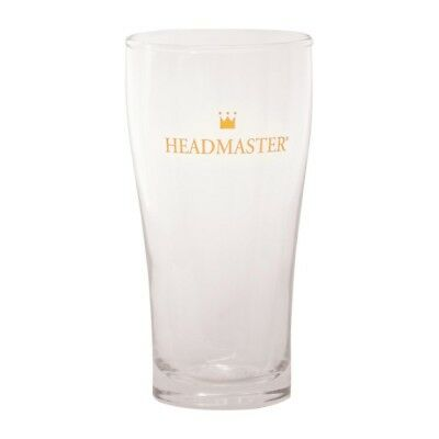 Pack of 48 Crown Headmaster Conical Beer Glass 285ml