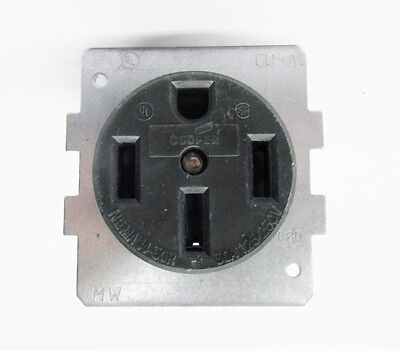 Cooper 1258-SP, 50-Amp, Power Receptacle, 125/250V, Nema 14-50R