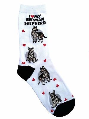 I Love My German Shepherd (631085) Women Size Socks