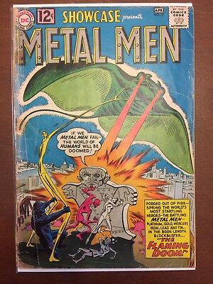 Showcase #37 DC 1962 - 1st App of The Metal Men & Dr. Will Magnus