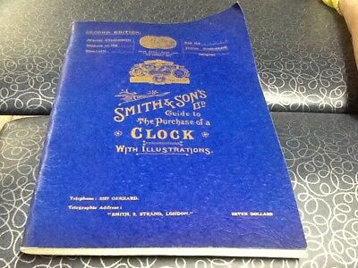 Smith & sons guide to purchase a clock reprint 1971 Catalog