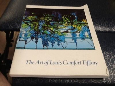 The Art of Louis Comfort Tiffany August 1981 softcover