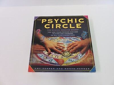 The PSYCHIC CIRCLE Magical Message Board & Companion Book Complete Game w/BOX
