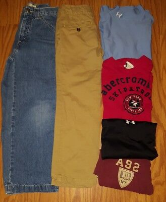 boy clothes lot small 7 8 slim