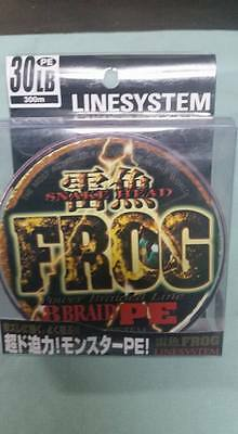 Braid PE-8 FROG linesystems 30lb / 300m pink japan