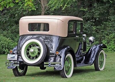 1931 Ford Model A Victoria Leatherback 1931 Ford Model A Victoria AACA Natl. 1st Prize Tool Kit & More! Very Good/Show