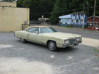1972 Cadillac Eldorado Base Convertible 2-Door 1972 Cadillac Eldorado Base Convertible 2-Door 8.2L