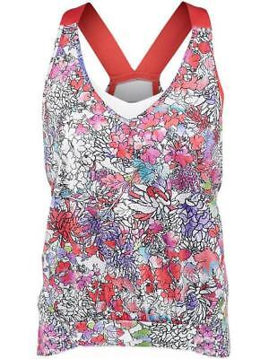 Lucky In Love Women's Tennis Tank Top Ct303-143807 Size Xs ,s Nwt