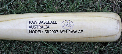 Wood Baseball Bat - Ash - Various Sizes - High Quality - Raw Baseball