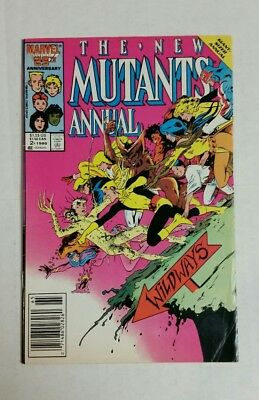The New Mutants Annual #2 (Jan 1986, Marvel), VG++, 1st Psylocke