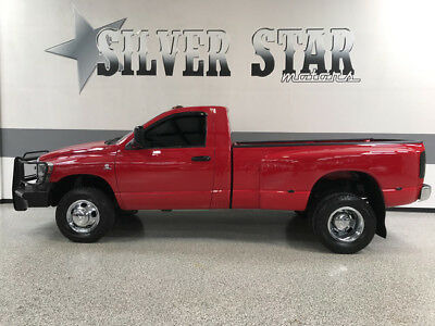 2006 Dodge Ram 3500  2006 Ram 3500 SLT 4WD 5.9L-Cummins 6SPEED-MT 2DR RegularCab Dually OklahomaTruck
