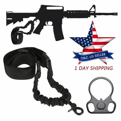 One 1 Point Dual Sling Mount Tactical Gun Adapter Accessories for AR15 Rifle 233