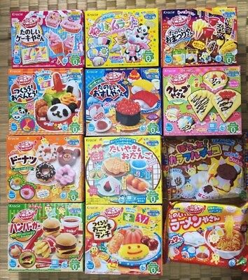 Kracie Happy kitchen popin cookin Japanese making candy kit select items