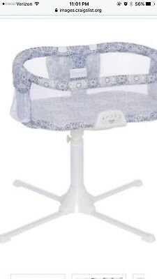 HALO Bassinest Swivel Sleeper-Luxe in Blue Never Slept in Real Steal!