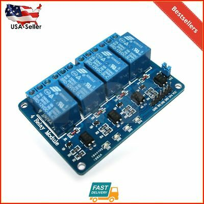 4-Channel 12V Relay Module With Optocoupler For Arduino DSP AVR PIC ARM