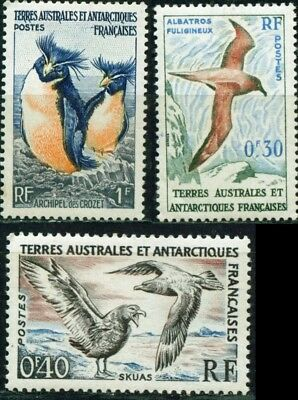 EBS French Antarctic Territories - Beautiful Stamps - Birds FAT3/15