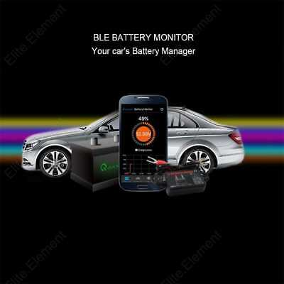12V Bluetooth Battery Monitor Car 4.0 Wireless Free Mobile APP Real Time Tester