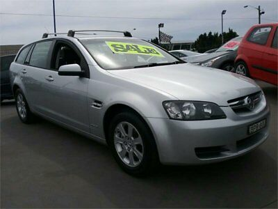 2010 Holden Commodore VE International Silver Automatic A Wagon