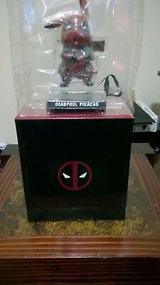 Deadpool Pikachu Collectible Figure
