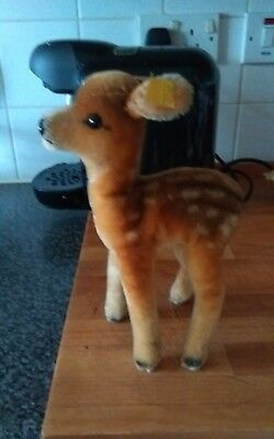Antique Steiff Deer Fawn* Silver Button*
