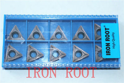 High quality IRON ROOT 10Pcs TCMT16T308-MR 2115 CNC Carbide For stainless steel