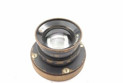 Ross Xpres Wide Angle 5 inch f4 Air Ministry Lens RAF WW2 14A / 843 no reserve