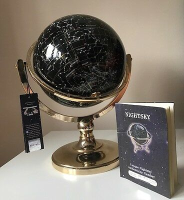 Brass Celestial Globe verified by Guildford Astronomical Society