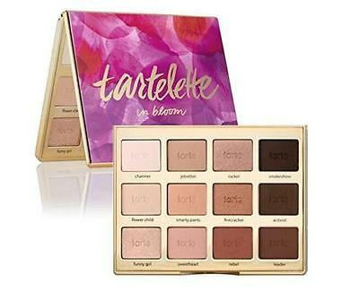 Tartelette Tarte 12Color Cosmetic Make Up Matte Smoky Eyeshadow Glitter Palette