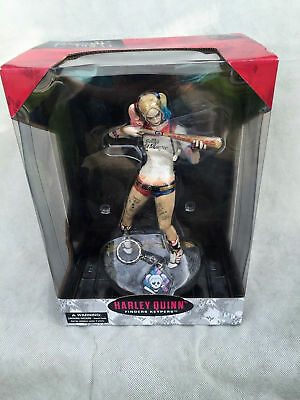 "10"" Suicide Squad Harley Quinn Premium Statue Figure Collectible Margot Robbie"