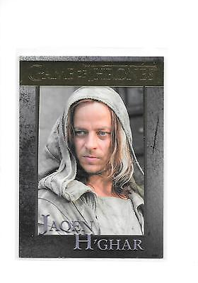 Game of Thrones Season 5 Jaqen H'Ghar #82 Gold Parallel /150