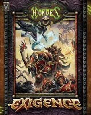 Hordes Exigence Roleplaying Book Brand New Cheap!!