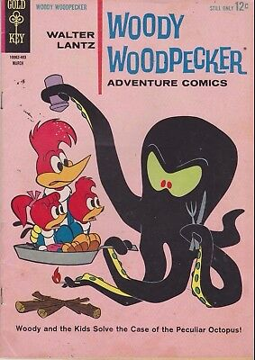 Walter Lantz Wood Woodpecker #79 1964  Silver Age Gold Key Comics Us Import