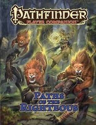 Pathfinder Paths Righteous Companion Roleplaying Book Brand New Cheap!