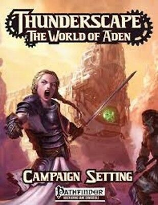 Pathfinder Thunderscape World Of Aden Campaign Roleplaying Book Brand New Cheap!