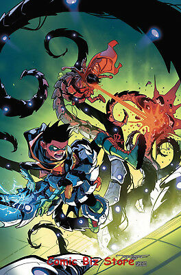 Super Sons #8 (2017) 1St Printing Bagged & Boarded Dc Universe Rebirth