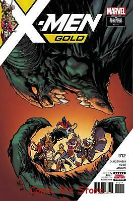 X-Men Gold #12 (2017) 1St Printing Bagged & Boarded Marvel Comics