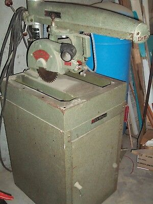 Dewalt Radial Arm Saw, model: MBI, used
