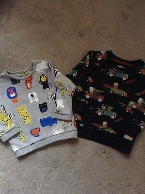 Boys Toddlers Jumper Sweater Bundle Next X2 12-18 Months