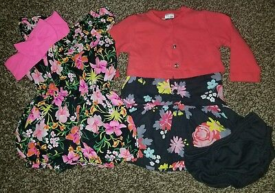 Baby girl dresse sets, sizes 6 to 9 months lot of 2