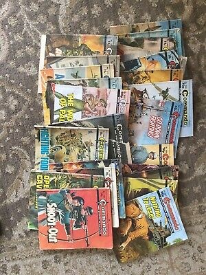 commando comics job lot X24
