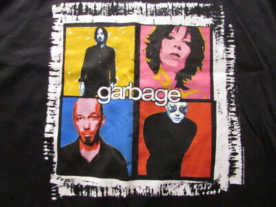 Beautiful Garbage 2001 Concert Tour Xl Shirt Shirley Manson Butch Vig Rare New